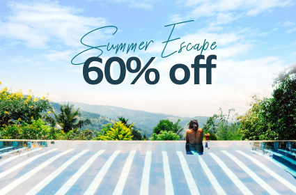 60% Off Summer Escape Offer
